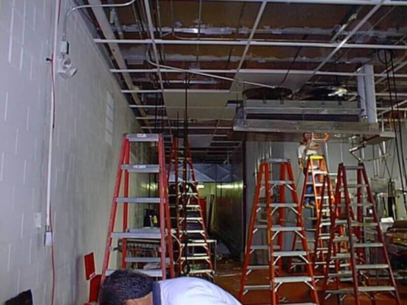 Refrigeration Fiberglass Drop-in Ceiling